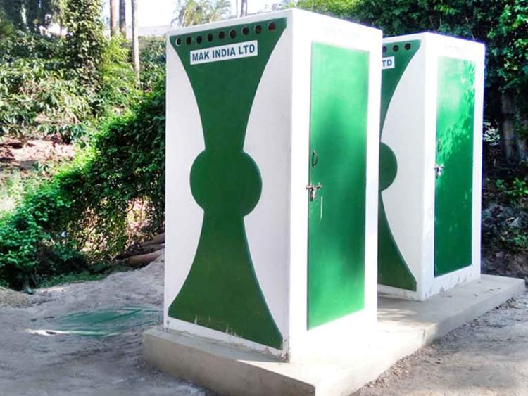 Bio Toilet Cabins
